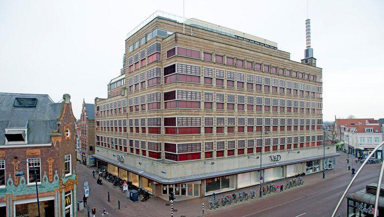 Het pand van de VD in Haarlem. Beeld null