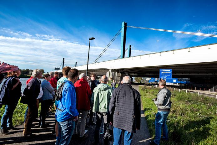 Presentatie en rondleiding voor omwonenden en geïnteresseerden over de werkzaamheden aan de Galecopperbrug.