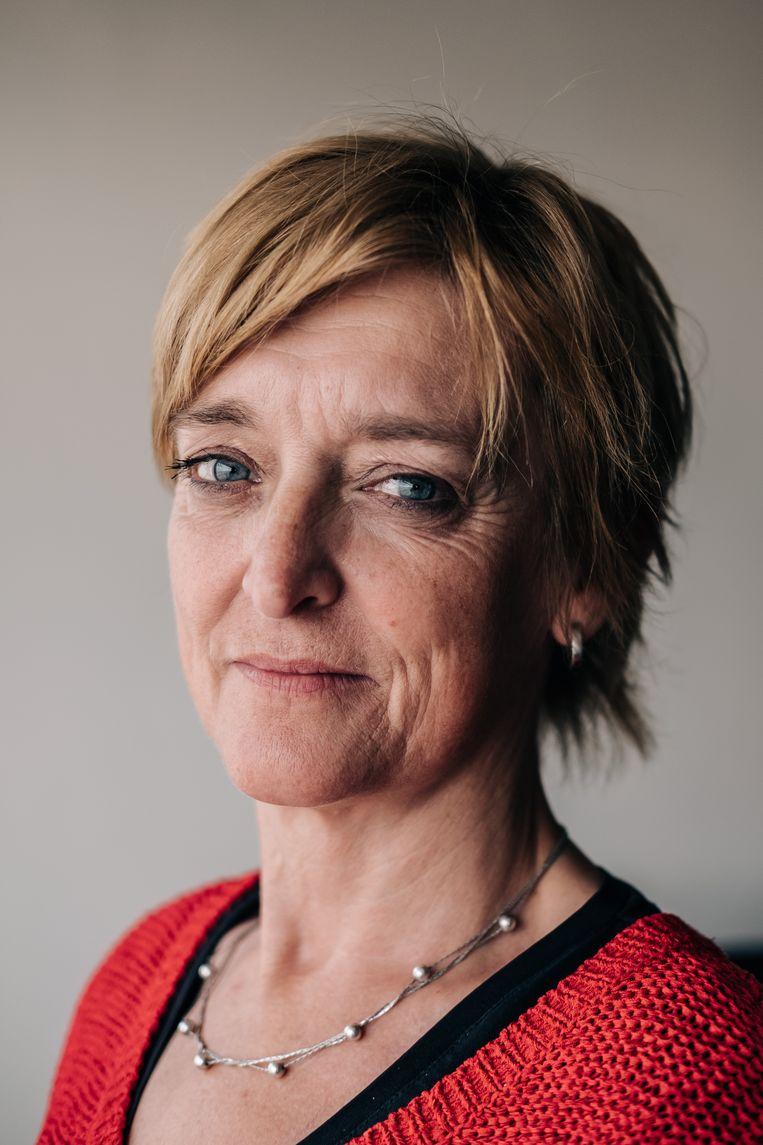 Monique Van de Weygaert. Beeld Wouter Van Vooren
