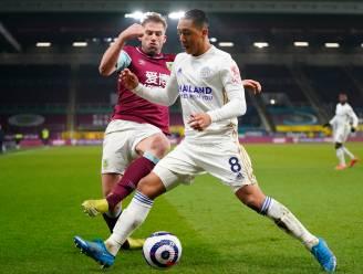 Tielemans en Leicester verspelen dure punten tegen laagvlieger Burnley