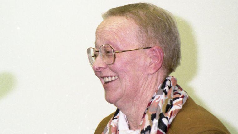 Dora van der Groen. Beeld BELGA