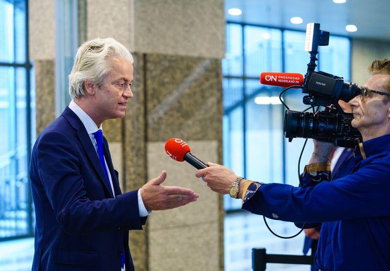 Den Haag, 16 juni 2020Tweede Kamer, Geert Wilders, PVV, Ongehoord Nederland, FOTO Martijn Beekman Beeld Martijn Beekman