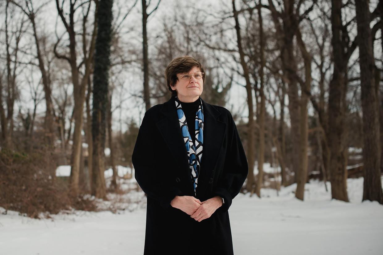 Biochemicus Kati Karikó in haar woonplaats Jenkintown, Pennsylvania. Beeld Hannah Yoon