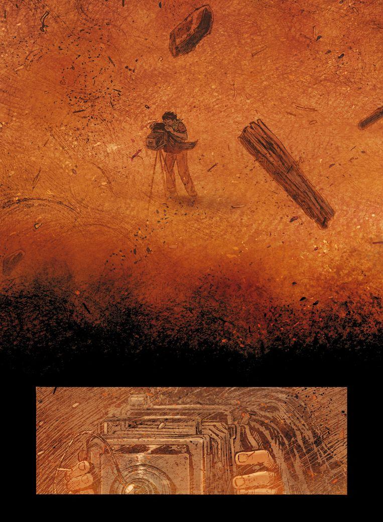 Uit: Dagen van zand  Beeld Scratchbooks