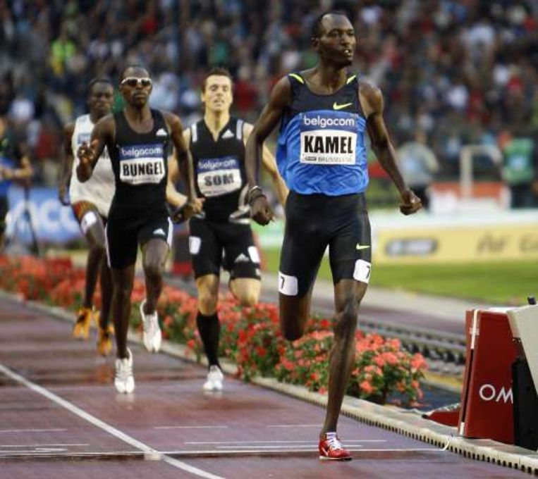 Youssef Saad Kamel won de 800 meter. Beeld UNKNOWN
