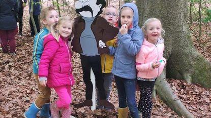 Kinderen op avontuur in Bulskampveld