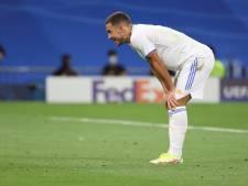 Positie Hazard bij Real Madrid steeds verder in het nauw