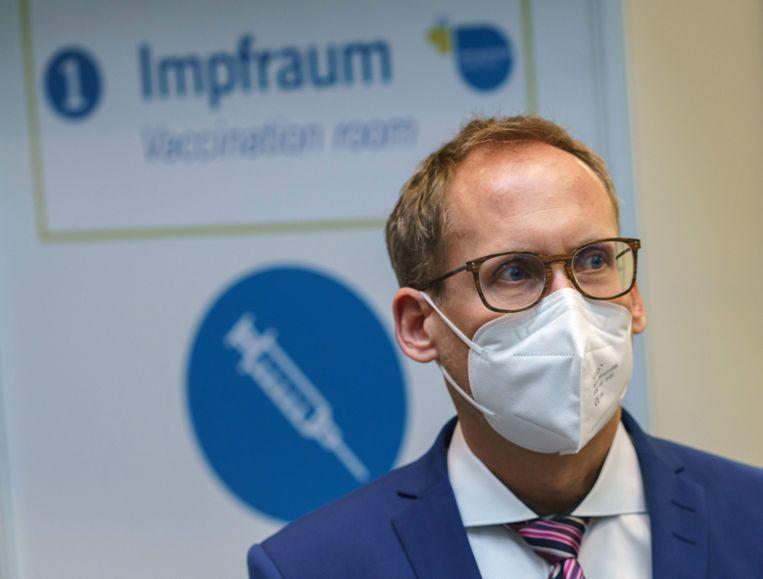 Kai Klose, de minister van Sociale Zaken van de deelstaat Hessen. Beeld AFP