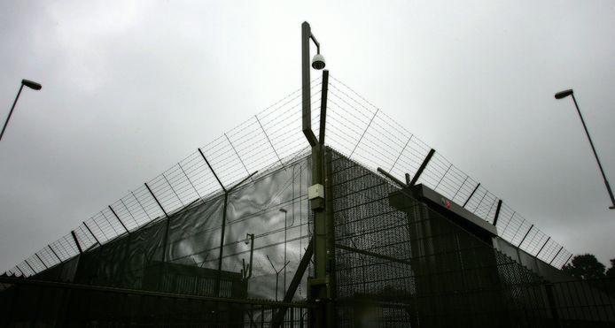 Hekwerk rond de Pompekliniek in Nijmegen.