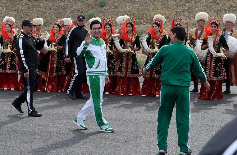 Gurbanguly Berdymukhamedov. Beeld AFP