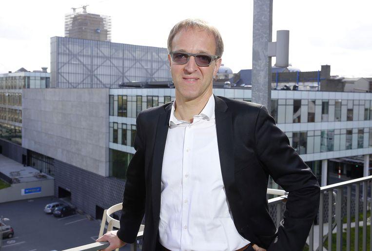 Rik Van de Walle, gedoodverfd favoriet om de nieuwe rector van de UGent te worden. Beeld BELGA