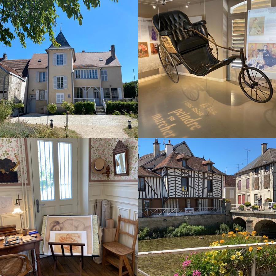 Atelier et maison Renoir dans le village d'Essoyes: un incontournable pour un savoureux voyage dans le temps