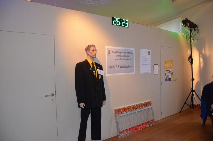 De escaperoom in het teken van 22 jaar Don Augustprijs.