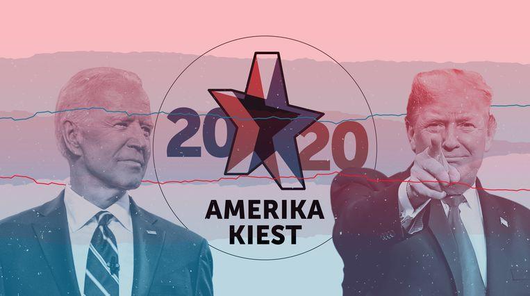 Op dinsdag 3 november verkiezen de Amerikanen hun nieuwe president. Beeld dm