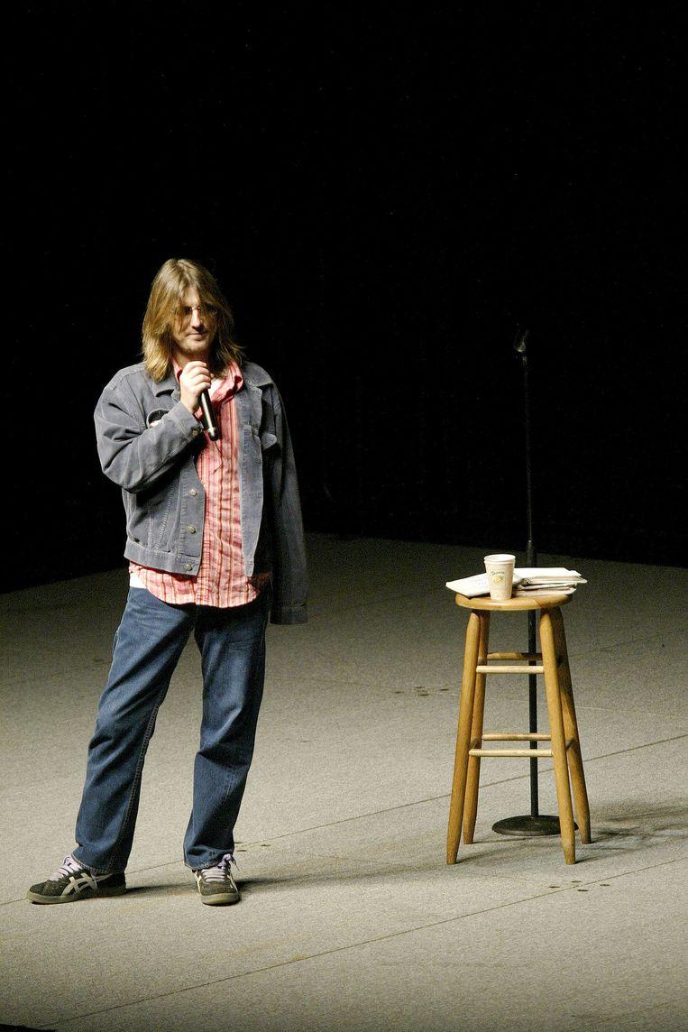 7. Komiek: Mitch Hedberg Beeld getty