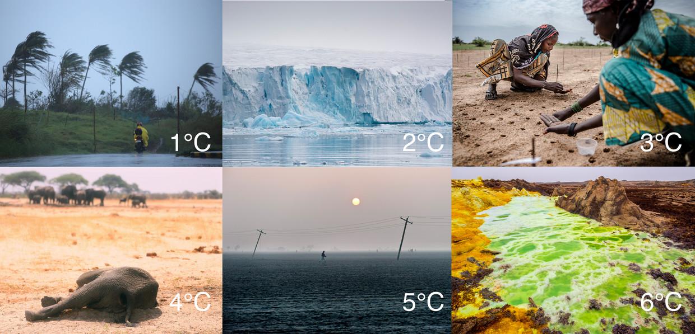 De aarde warmt op. Hoe sterker de opwarming, des te ingrijpender de gevolgen zullen zijn. Beeld RV