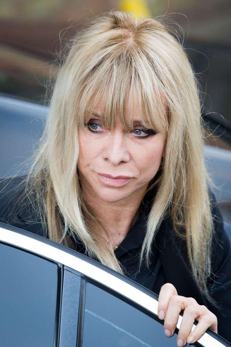 Tv-persoonlijkheid Jo Wood. Beeld AFP