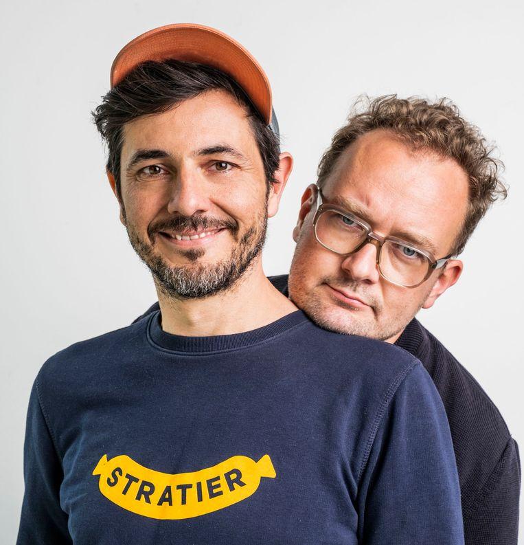 Dieter Coppens en Tom Suykens hebben samen Stratier.