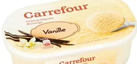 Carrefour rappelle ses crèmes glacées à la vanille