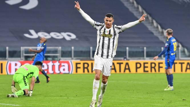 Ook Cristiano Ronaldo doet nu beter dan voetballegende Pelé na tweeklapper tegen Udinese