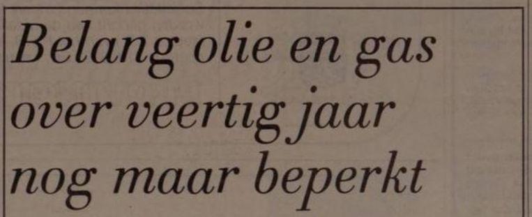 (De Volkskrant, 1979) Beeld