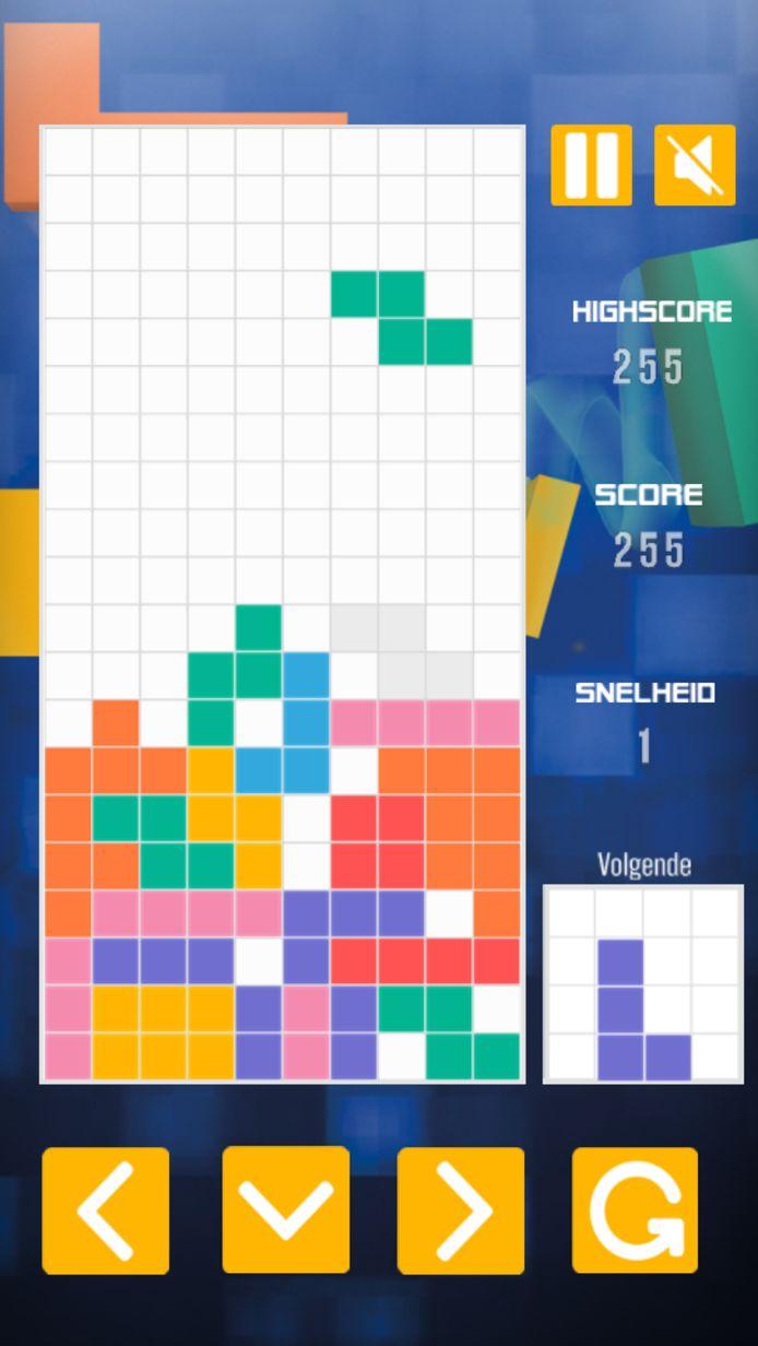 Tetrix in de HLN-app
