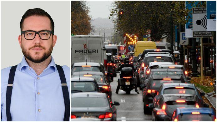 Privacy-expert Matthias Dobbelaere-Welvaert heeft zijn twijfels bij het voorstel van de nieuwe kilometerheffing in Brussel.