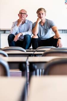 Reünie na 25 jaar Scala College: 'Knoeien met cijfers kon toen'
