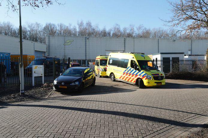 Het ongeluk gebeurde op Den Uitvanck in Oirschot.