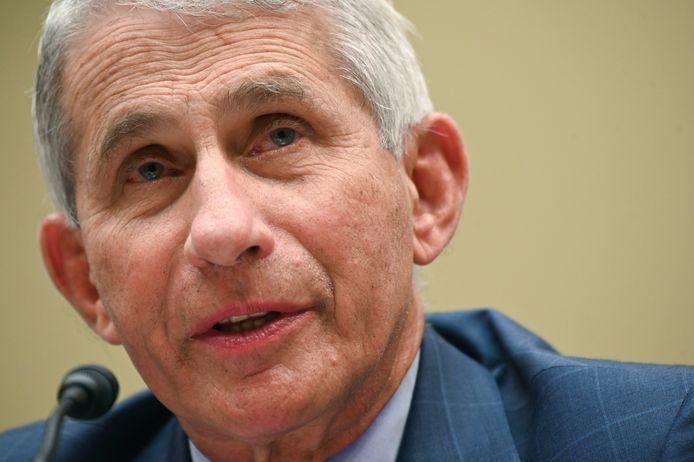 Dr. Anthony Fauci, directeur van het the National Institute for Allergy and Infectious Diseases.