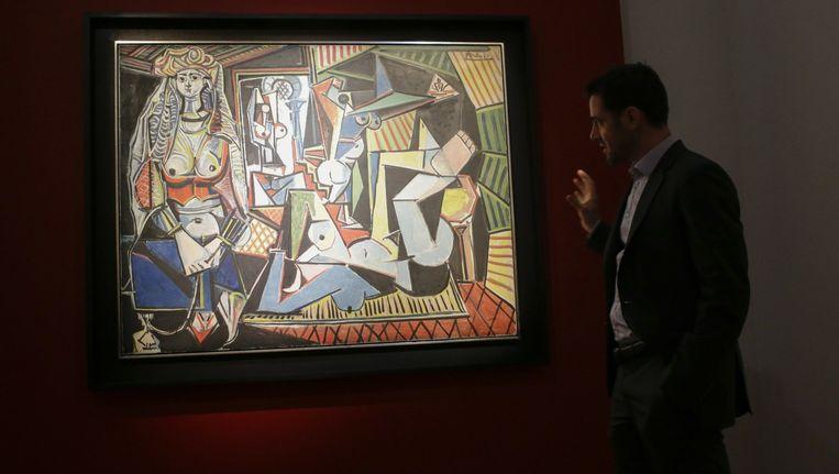 'Les femmes d'Alger (Version 0)' van Pablo Picasso. Beeld afp