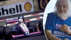 """Van Rossem had ooit een F1-team: """"Zijn wagen hing meer met de wielen van de grond"""""""