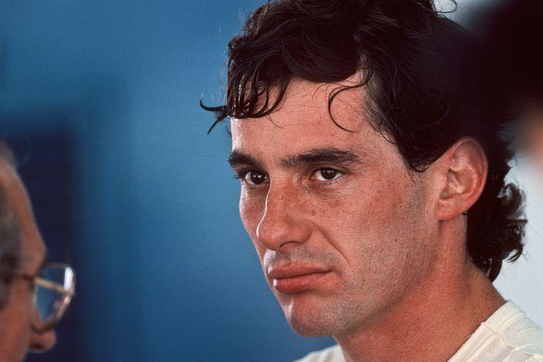 Ayrton Senna. Beeld Getty Images