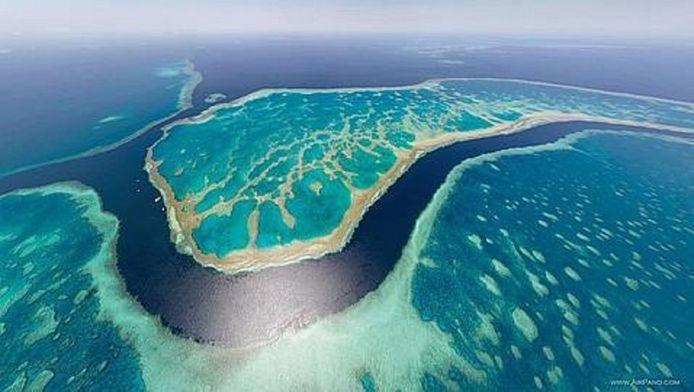 La Grande Barrière de corail.