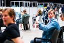 De vaccinatielocatie van de GGD in Breda.