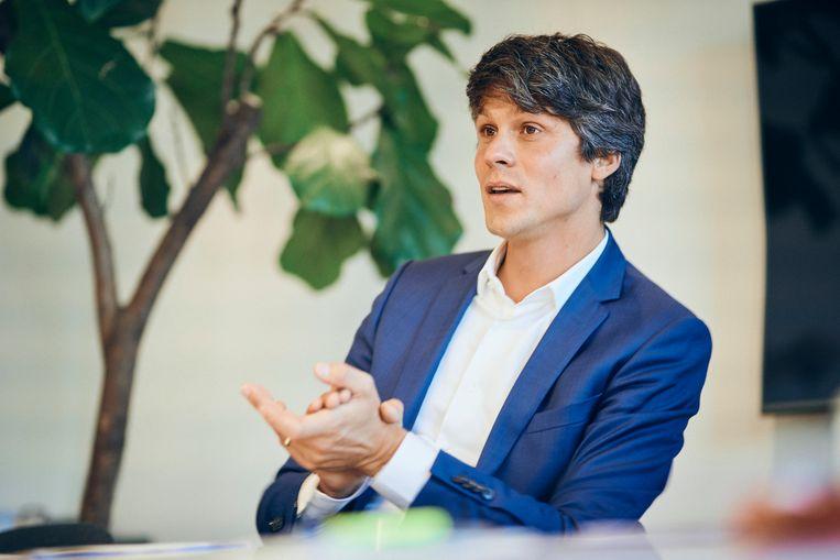Minister van Jeugd Benjamin Dalle (CD&V). Beeld Thomas Nolf