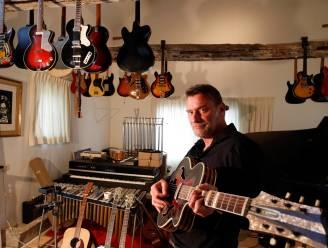 """Daan bezit een honderdtal gitaren: """"Maar ik heb nog nooit meer dan 1.000 euro voor een instrument betaald"""""""