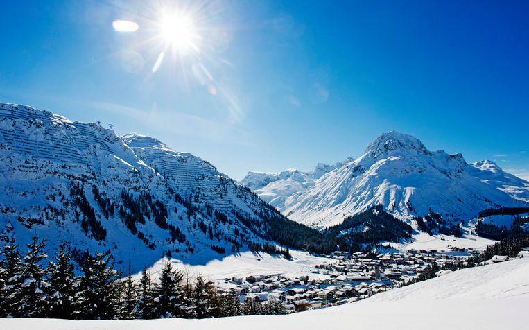 Almaar meer skiërs gebruiken drugs in Franse wintersportgebieden.  Beeld ANP