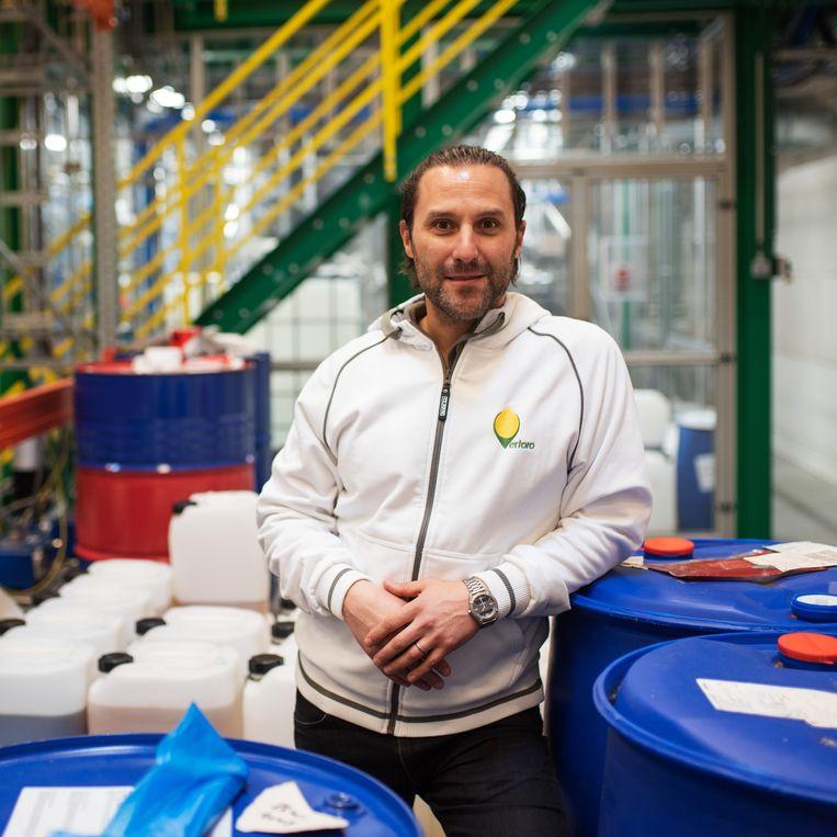 Michael Boot van Vertoro dat een grote speler op de markt van houtachtige biomassa wil worden. Beeld Sabine van Wechem