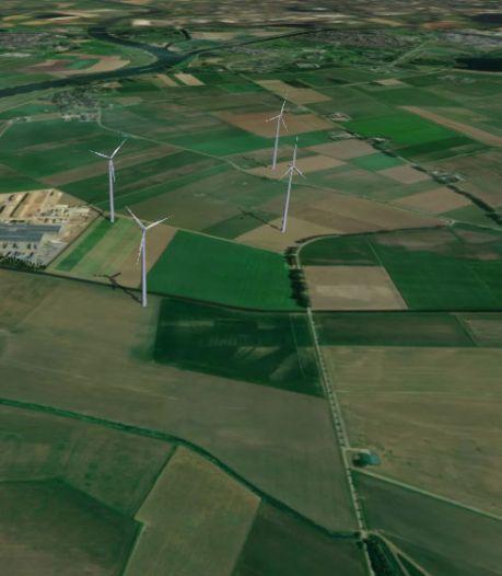 Bokhoven wil nauw betrokken worden bij plan windmolenpark Heusden: turbines komen op 850 meter