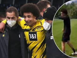 Voltrekt het mirakel zich? Axel Witsel traint nu ook met de bal op het oefenveld van zijn ex-club Standard