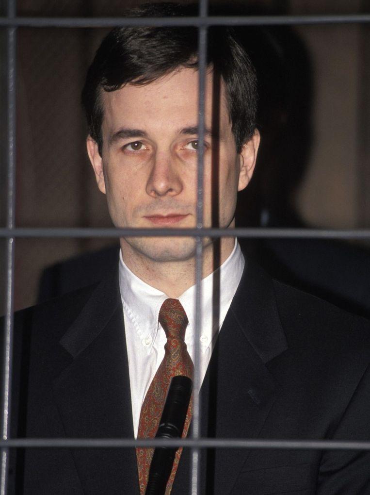 Philippe Lacroix ten tijde van het proces Haemers. Beeld PHOTO_NEWS