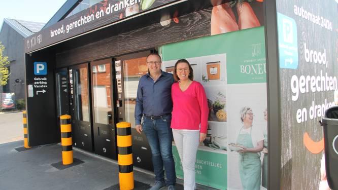 Vanatex pakt  vlakbij Rijksweg uit met automaat vol kant- en klare gerechten