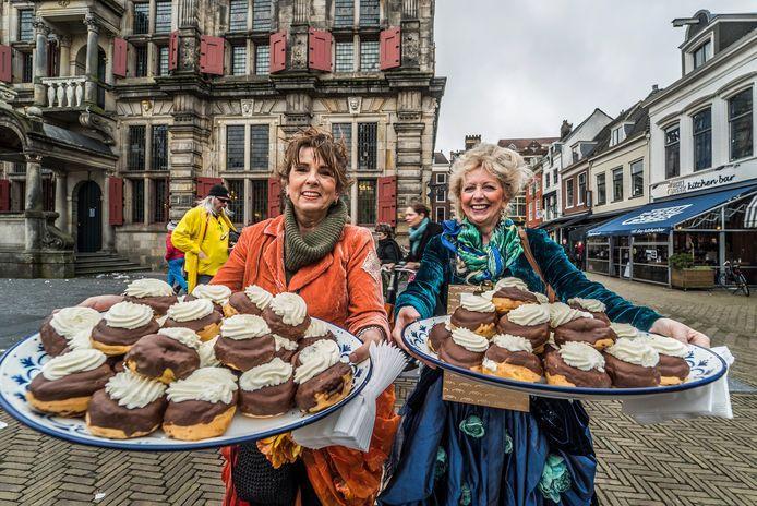Carla van Tricht (links) zet zich al langer in voor de partij van fractievoorzitter Jolanda Gaal (rechts).