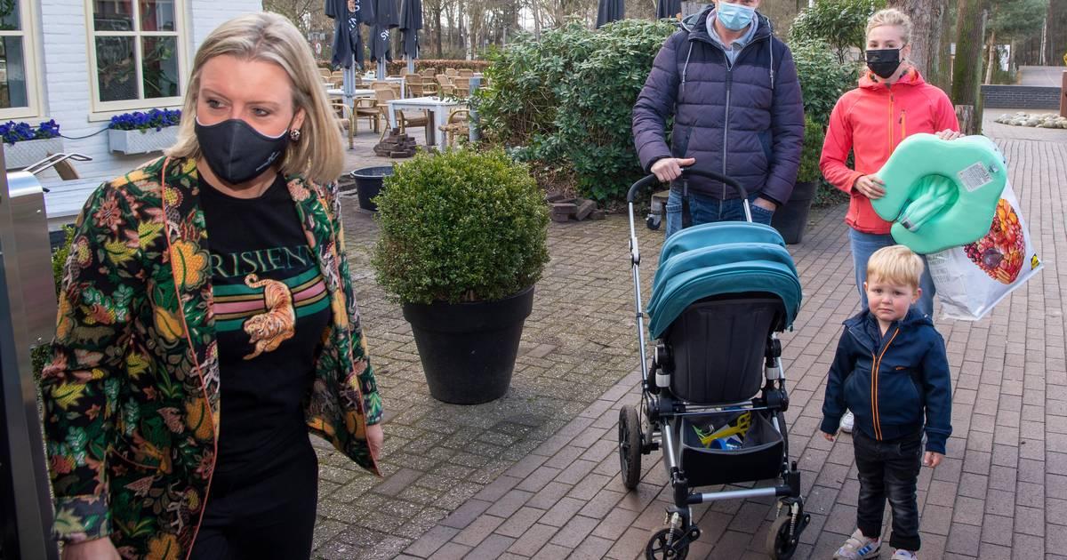 Vooral peuters en hun ouders genieten van testdag Beerze Bulten: 'donderdag geen beste dag'