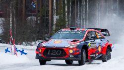 Neuville schuift op naar derde plaats in Rally van Zweden, Tänak blijft leider