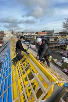 Hoogste punt van nieuwe huizen in Goes-West is bereikt