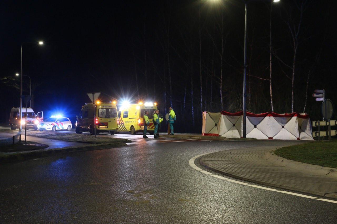 Een persoon kwam om het leven bij het ongeval