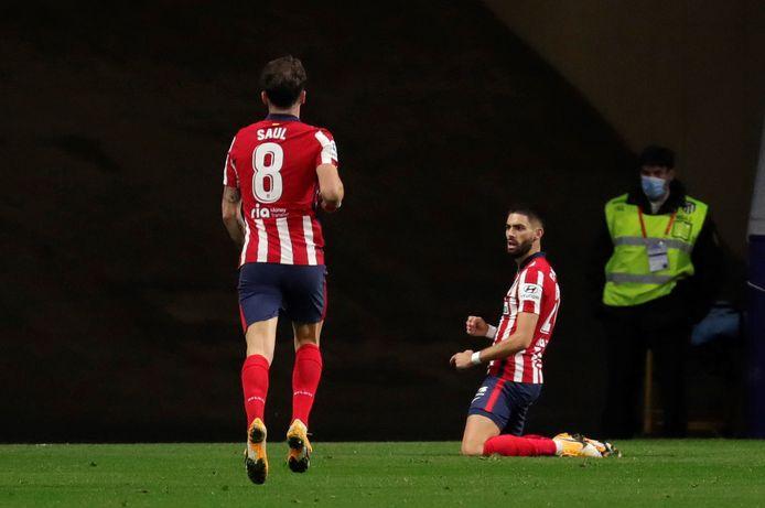 Unique buteur de la soirée, Yannick Carrasco offre à l'Atletico un succès de prestige et la tête du championnat.
