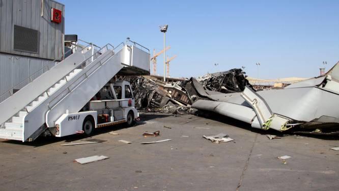 Vliegtuigen vermist op luchthaven die door terreurgroep ingenomen is